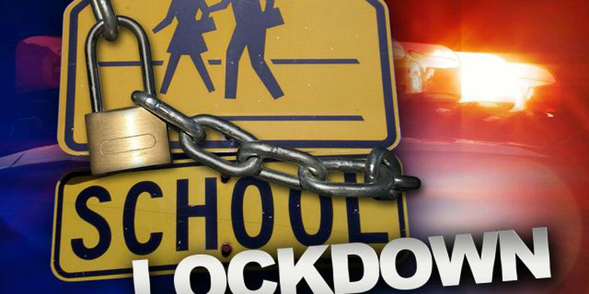 Middle school placed on brief lockdown during search for suspect