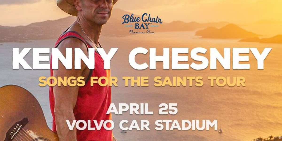 Country superstar Kenny Chesney to play Volvo Car Stadium in 2019