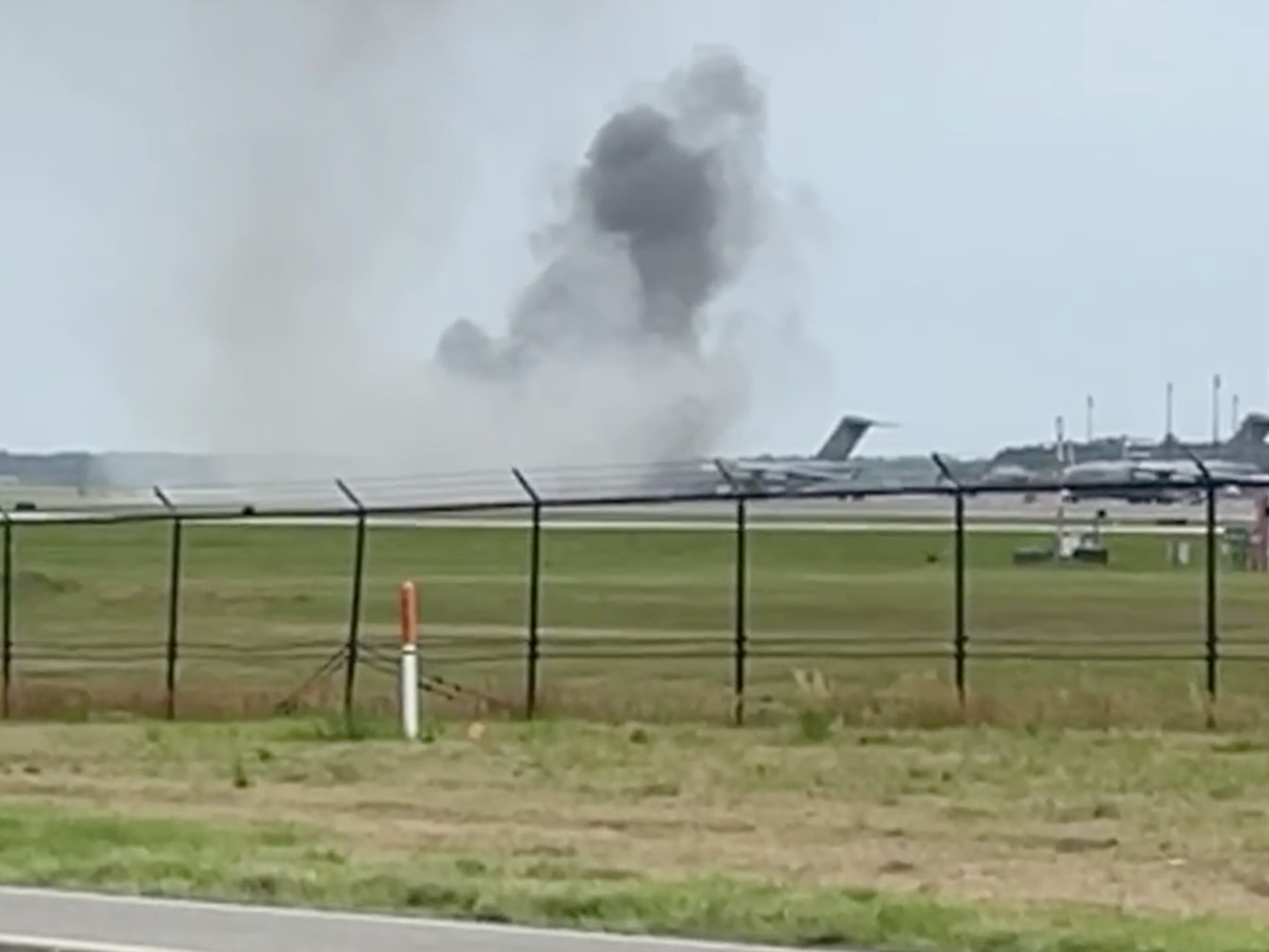 No injuries reported following incident involving aircraft at Joint Base Charleston