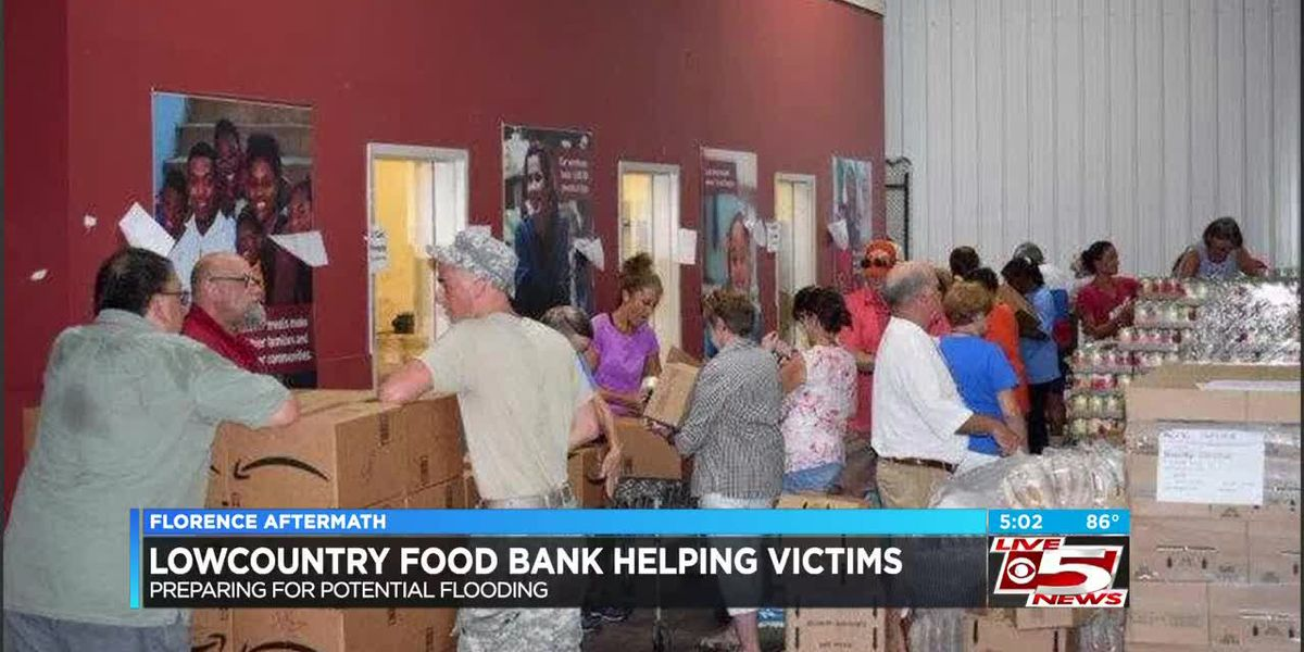 VIDEO: Lowcountry Food Bank helps hand out food ahead of flooding in Williamsburg Co.