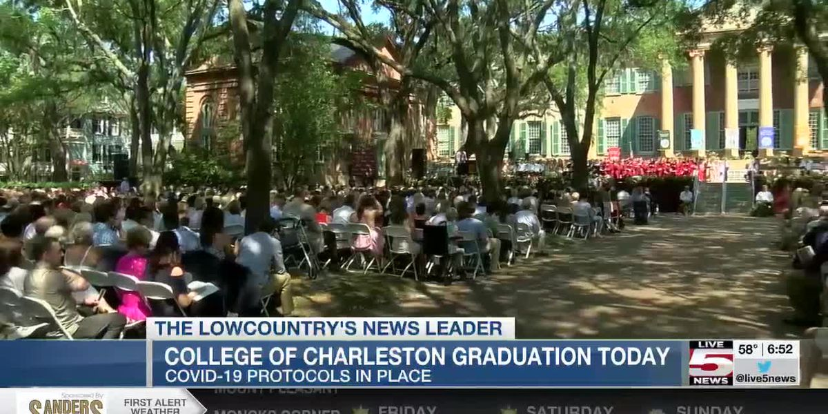 VIDEO: College of Charleston prepares for Crossing the Cistern graduation ceremony Friday