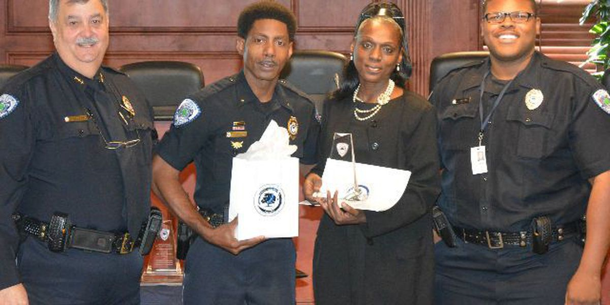 N. Charleston Police honor volunteer coaches for community service
