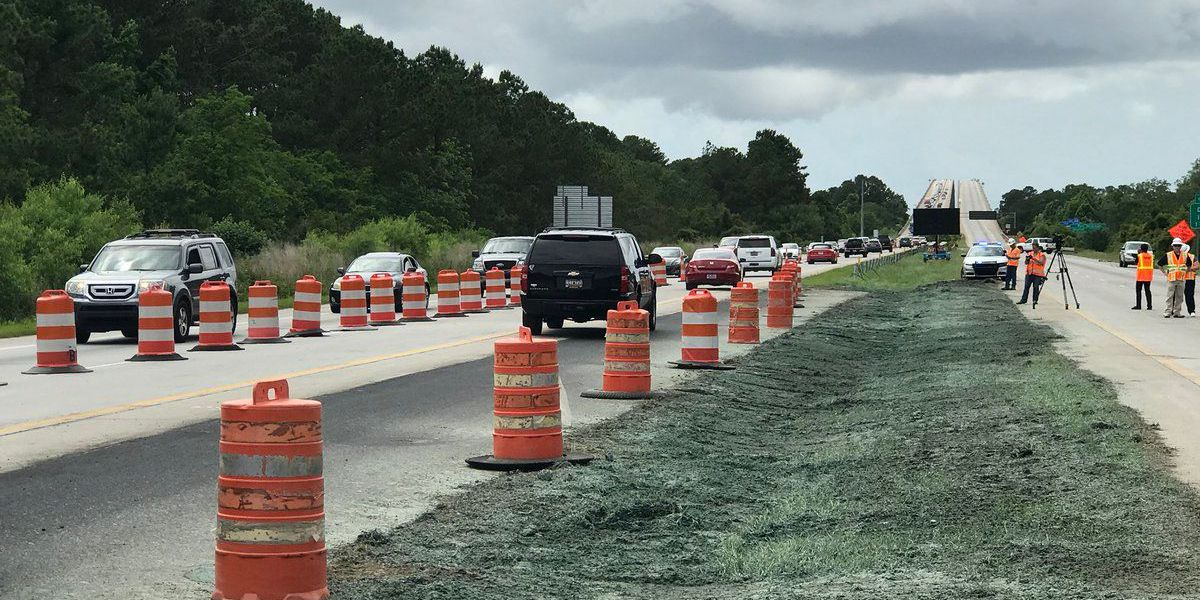 SCDOT starts 2-way traffic on eastbound Wando Bridge
