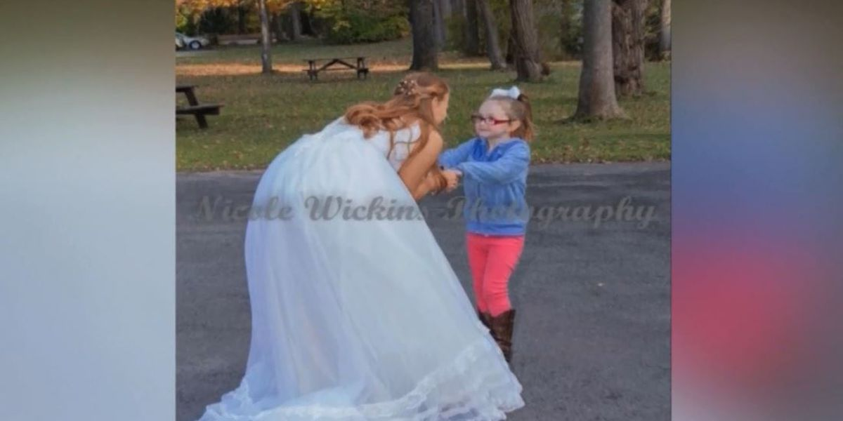 Girl, 5, mistakes bride for Cinderella
