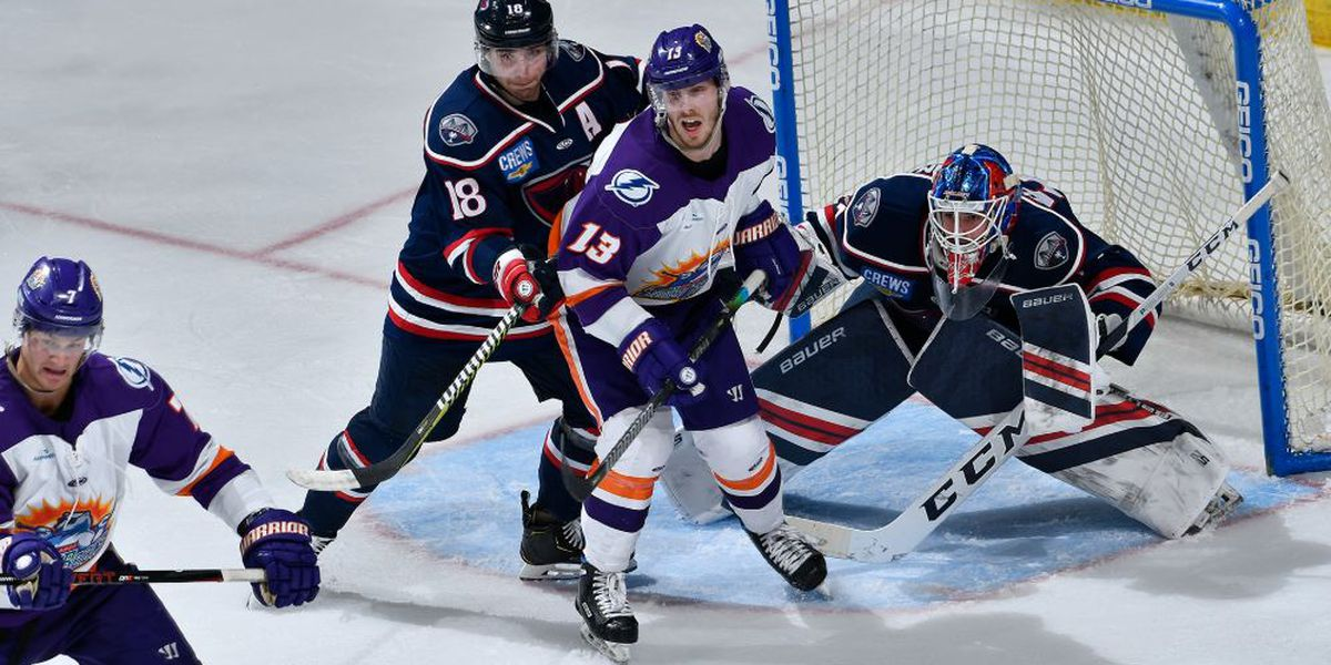 Rays Break Out With 4 Goals In 3rd, Drop Solar Bears