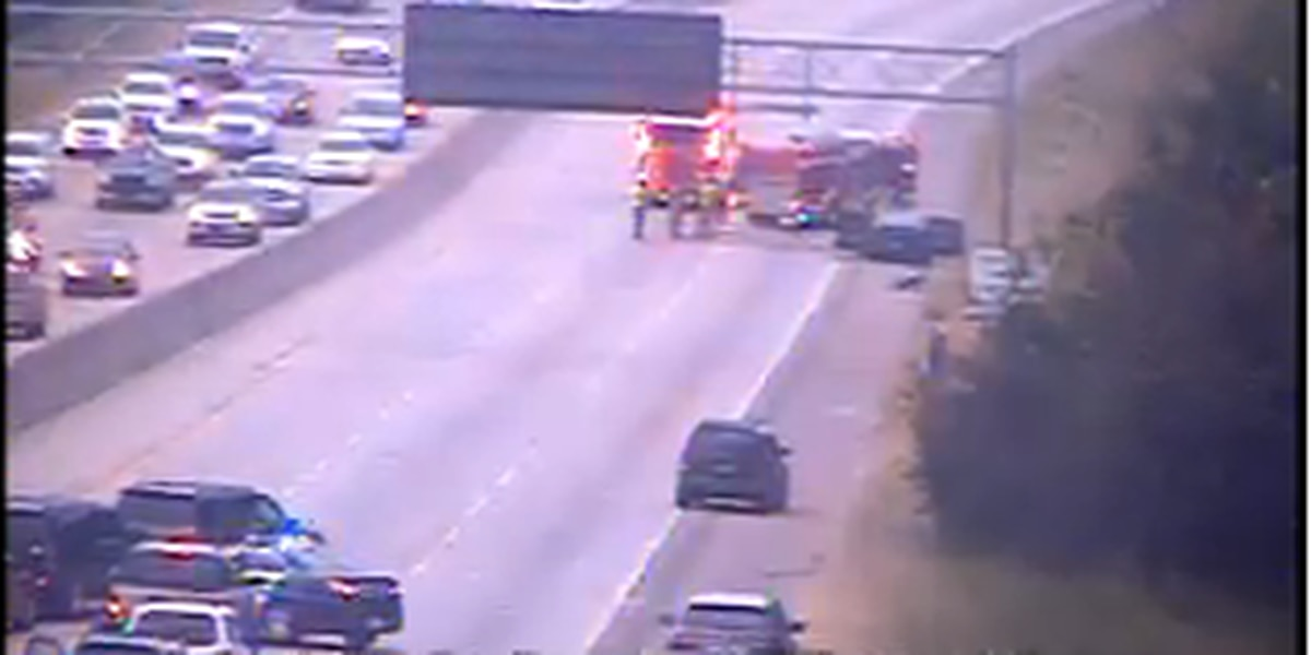 All lanes I-26 east reopened after vehicle fire