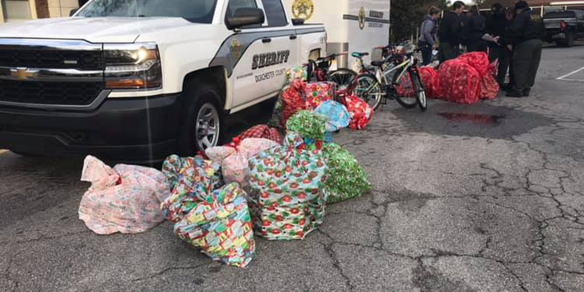 Dorchester county School resource officers give back