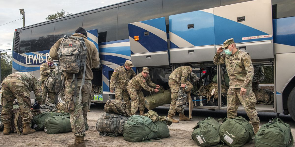 South Carolina National Guard returns to Mount Pleasant following DC deployment