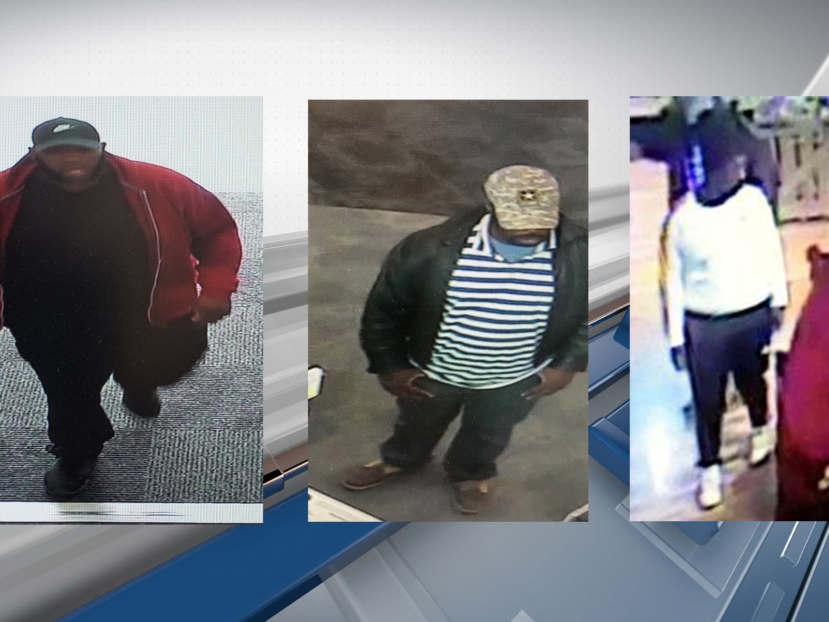Suspects wanted in Beaufort County theft case
