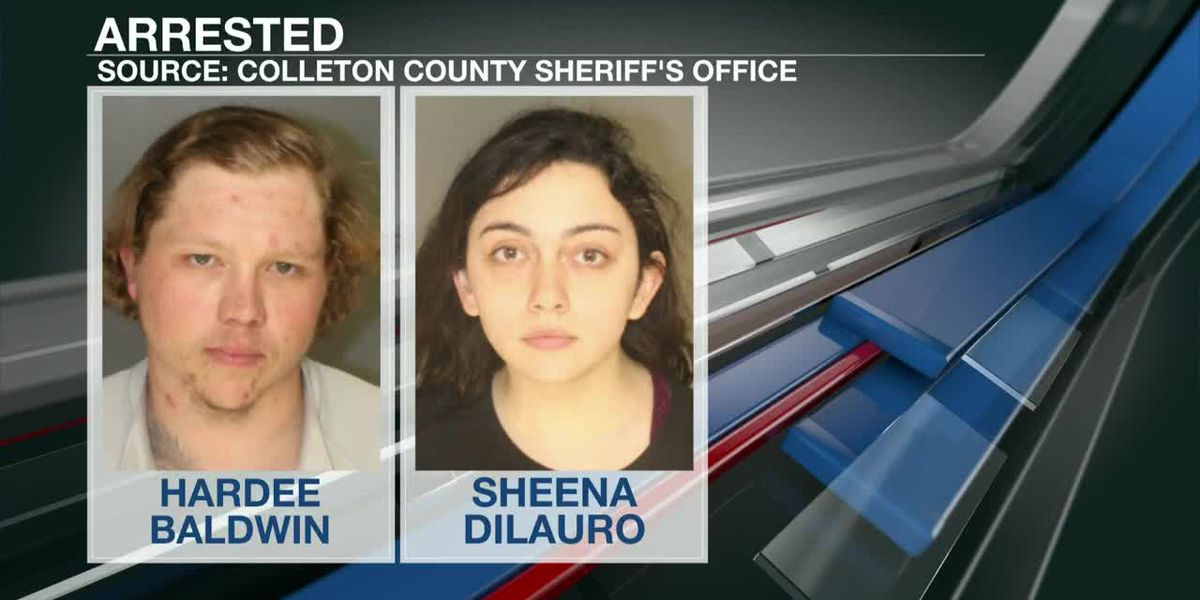 VIDEO: Colleton Co. deputies charge two suspected thieves following standoff