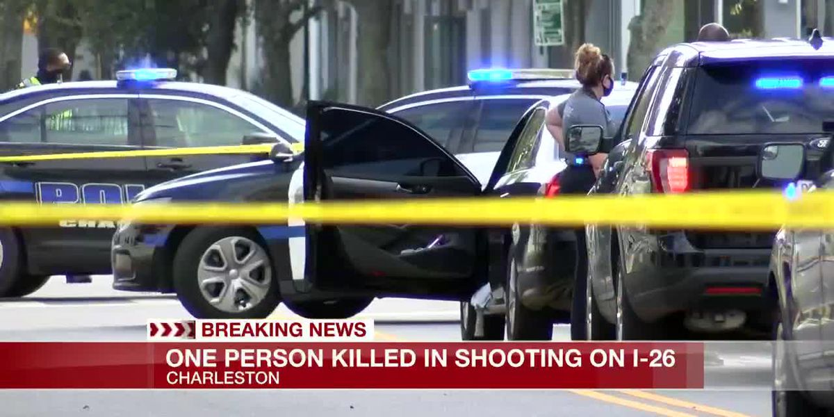 VIDEO: One dead, another injured following shooting on I-26