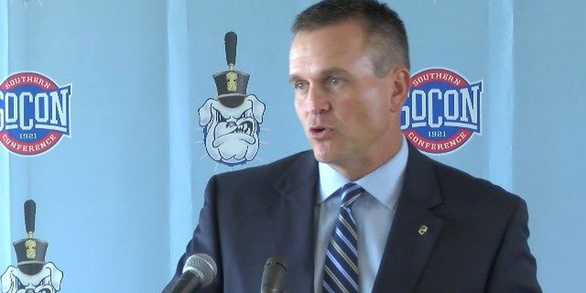 RAW: The Citadel's Mike Houston previews Western Carolina
