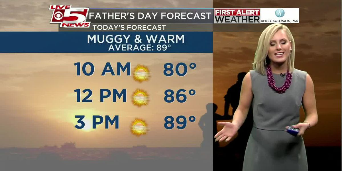 VIDEO: Your Sunday Morning Weather Forecast