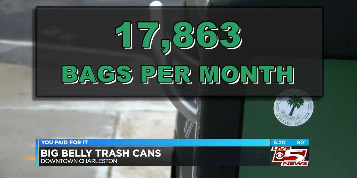 VIDEO: You Paid for It: Charleston introduces 'Bigbelly' trash cans