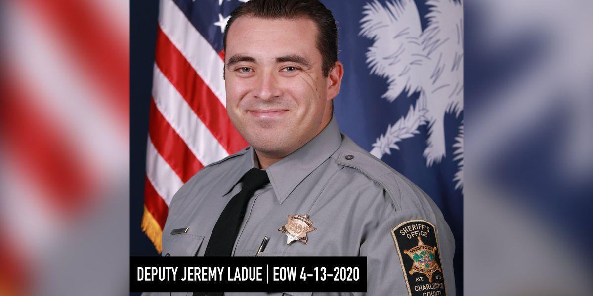 Sheriff's office dedicates monument to fallen deputy