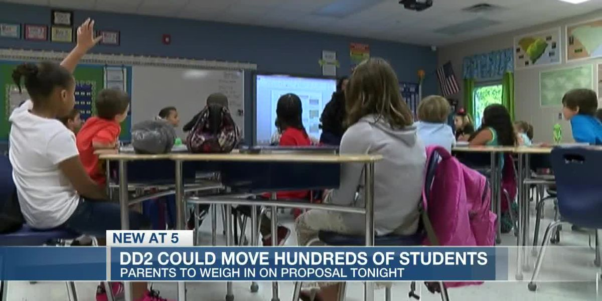 VIDEO: DD2 proposals to relieve overcrowding could affect more than 250 elementary students