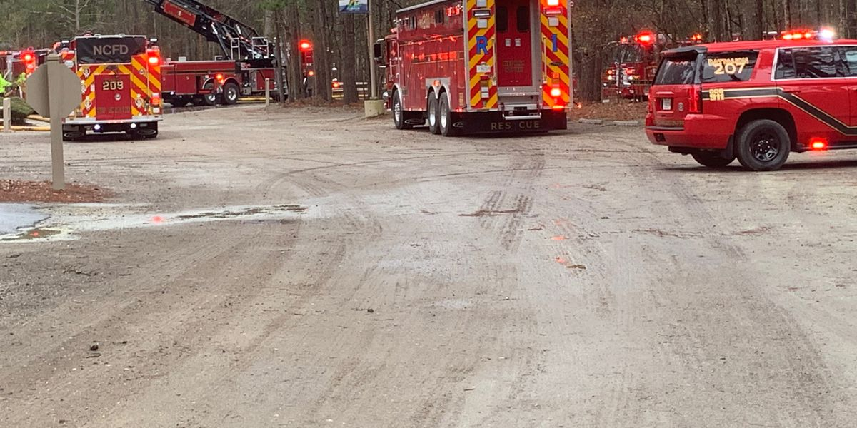 Crews respond to fire at Wannamaker County Park