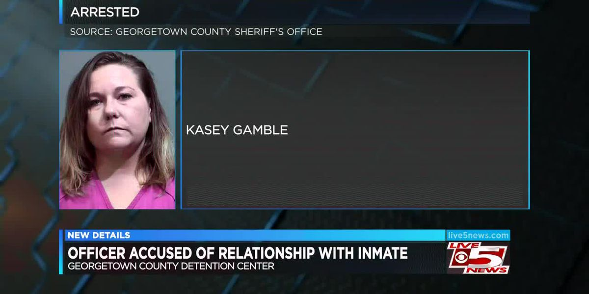 VIDEO: Report: Detention center officer had sex with inmate, planned to marry him on his release
