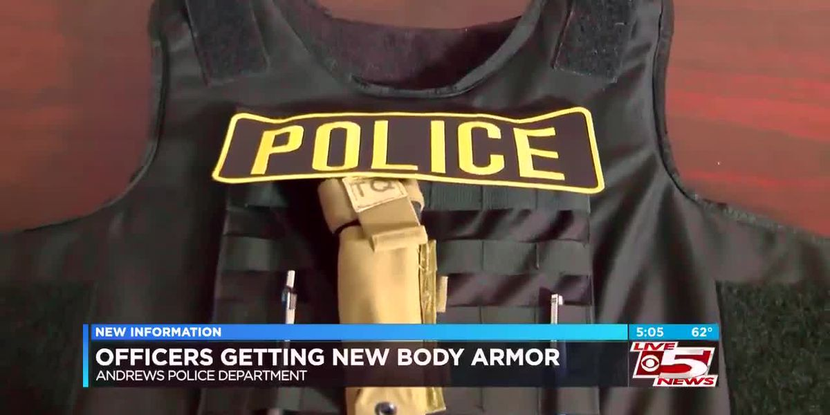 VIDEO: Andrews Police officers to receive new body armor