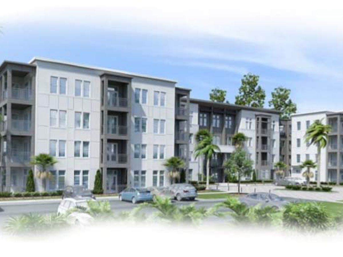 Developers revise plans for 340+ unit apartment complex in West Ashley