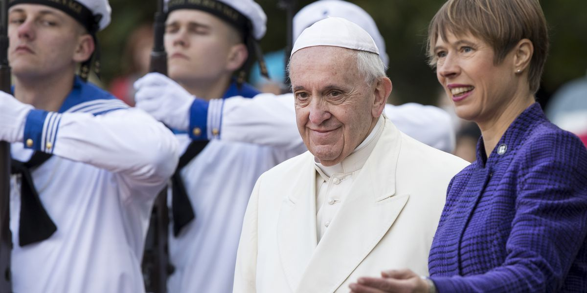The Latest: Pope says church judged unfairly on sex abuse