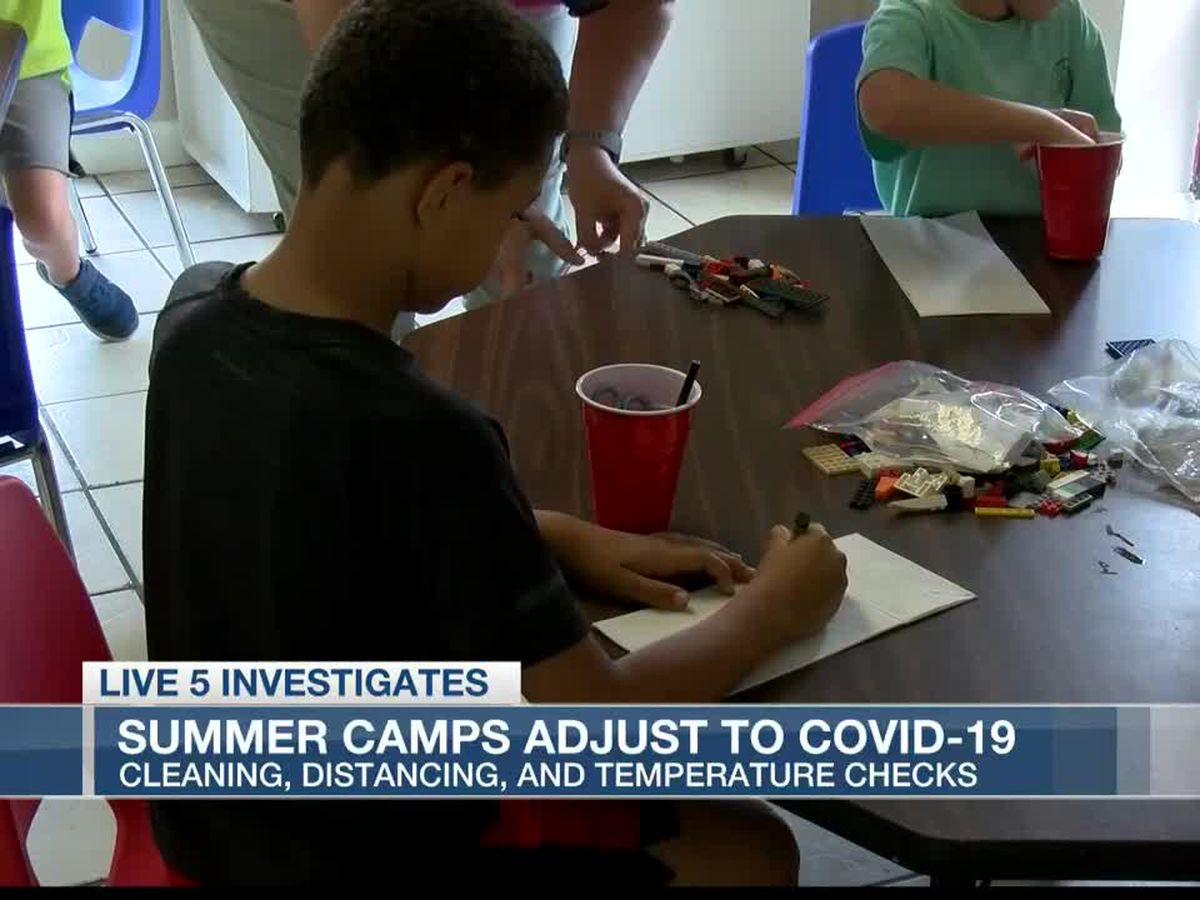 Local summer camps adapt to CDC guidelines