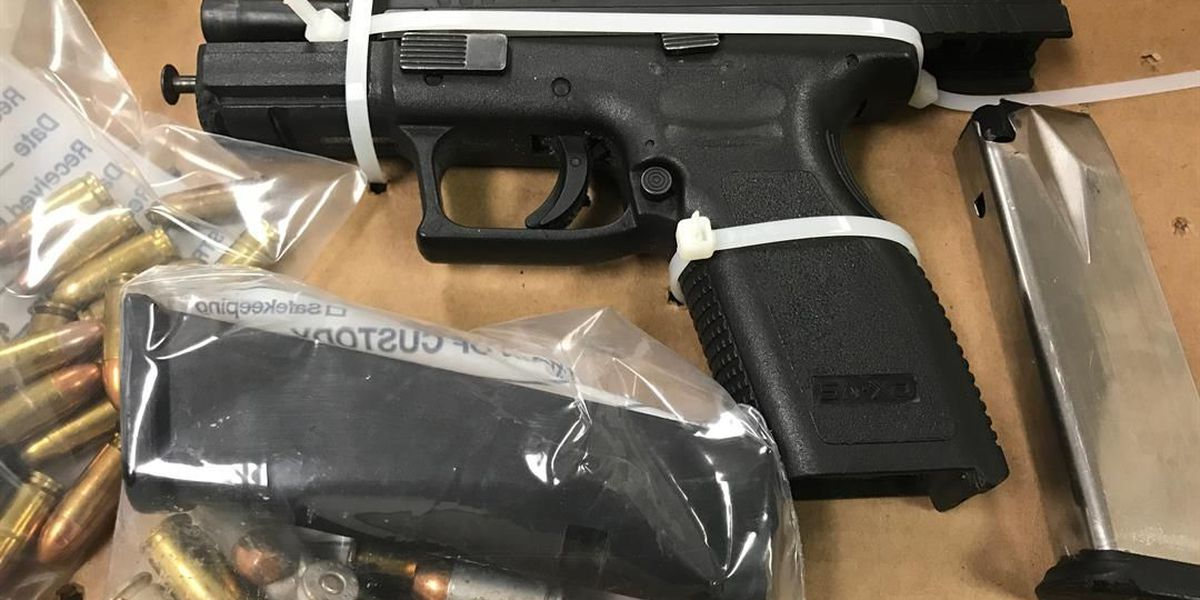 Guns and drugs confiscated in 3 separate incidents in N. Charleston