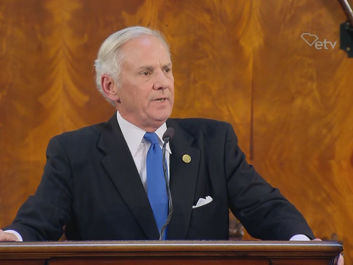 Gov. Henry McMaster focuses on education in first State of the State address as elected governor
