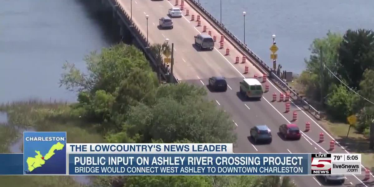 VIDEO: Officials seek public comment for Ashley River Crossing Project