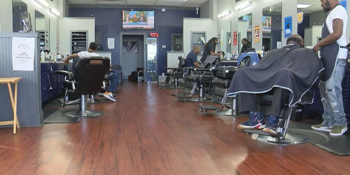 Charlotte barbershop raises funds to pay off EMHS seniors' school fees, so they can graduate