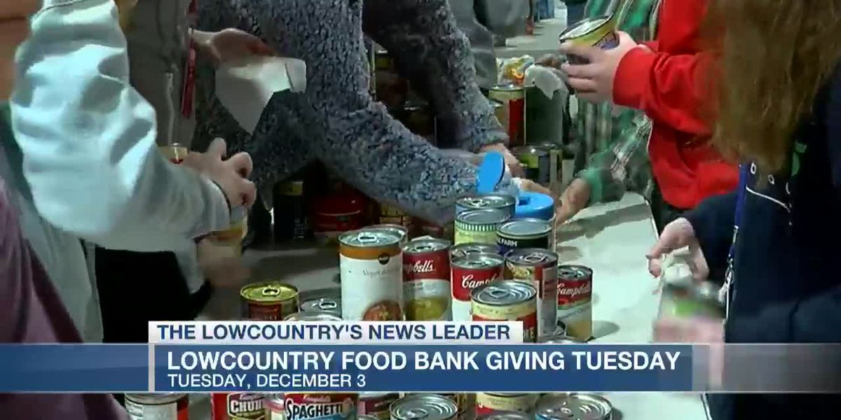 VIDEO: Lowcountry Food Bank calling for donations on Giving Tuesday