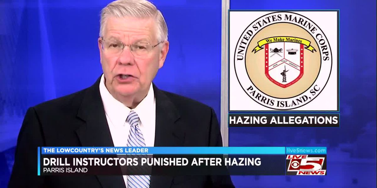 VIDEO: Marine Corps punished SC instructors over hazing claims
