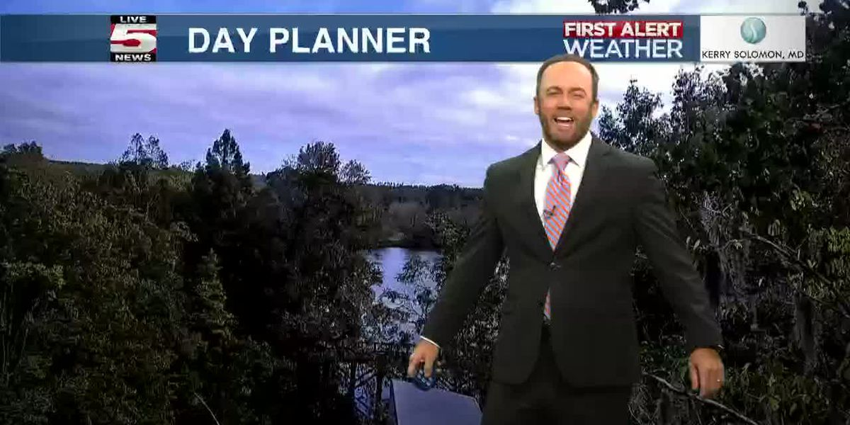VIDEO: Your Monday evening forecast