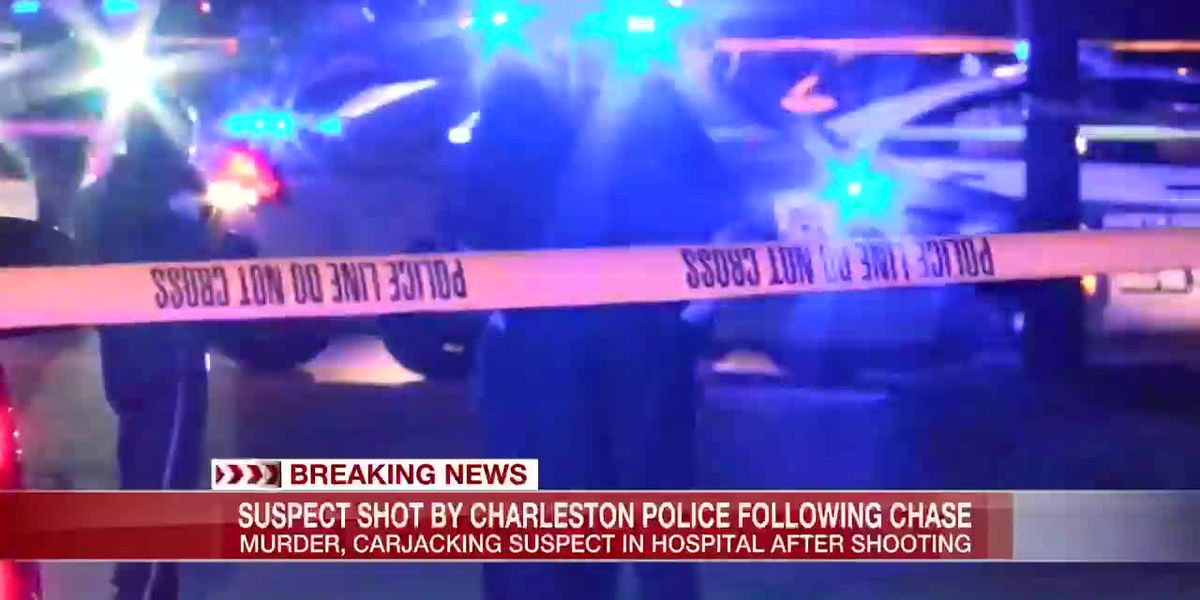 VIDEO: Murder, carjacking suspect shot following chase with police in Charleston