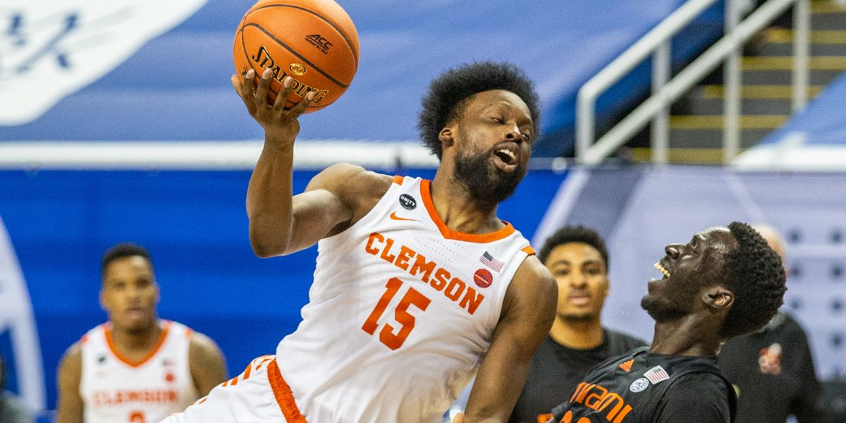 Clemson upset in ACC Tournament by Miami