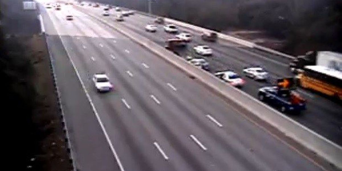 I-26 eastbound wreck cleared