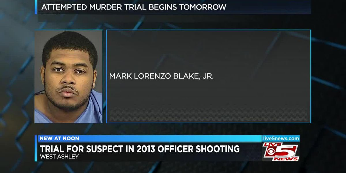 VIDEO: Trial begins Tuesday for man accused of shooting Charleston officer in 2013