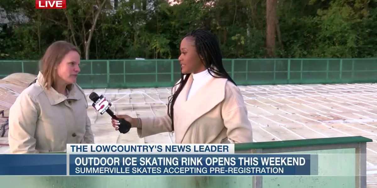 VIDEO: Outdoor ice skating rink to open in Summerville this weekend