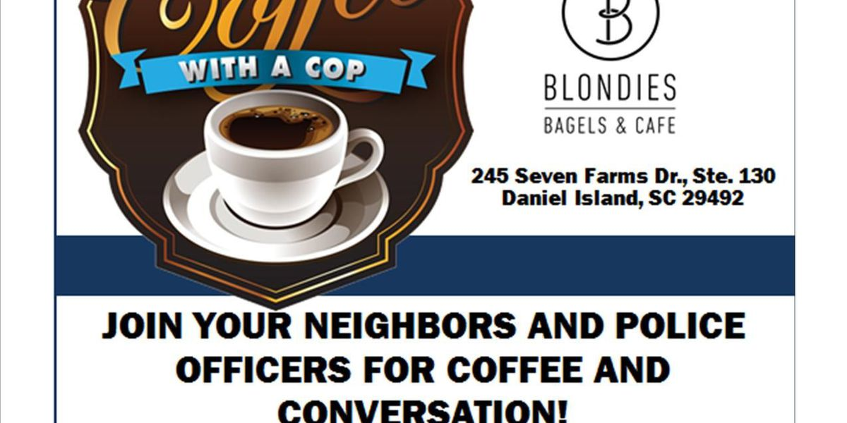 Coffee with a Cop event to be held on Daniel Island