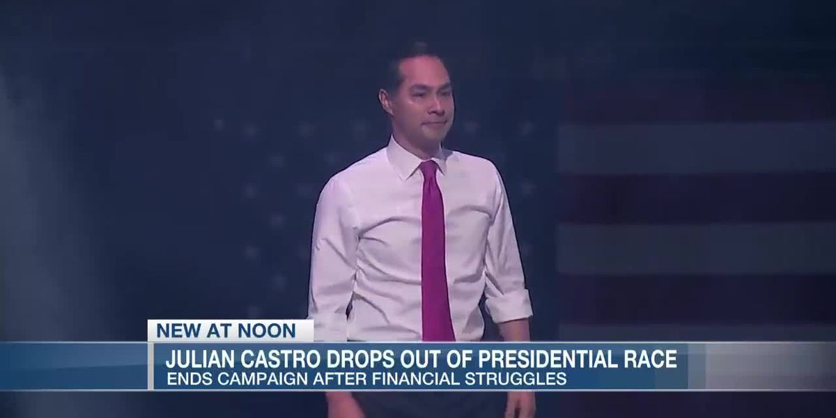 VIDEO: Democratic presidential hopeful Julian Castro drops out of 2020 race