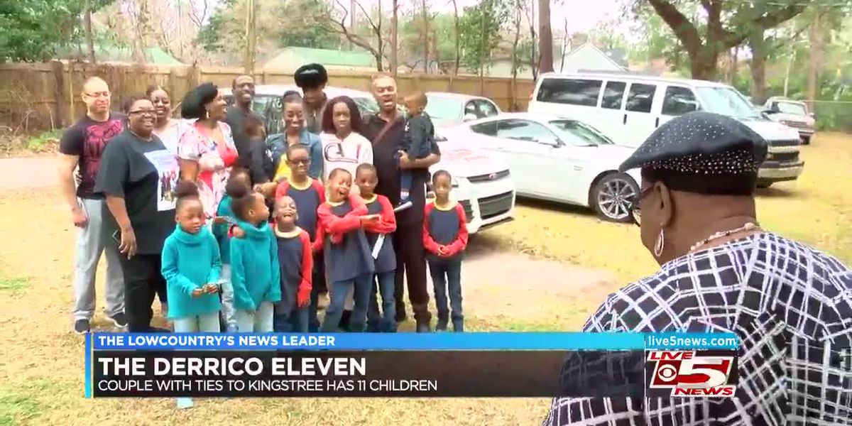VIDEO: Kingstree native and husband have 11 children, and counting