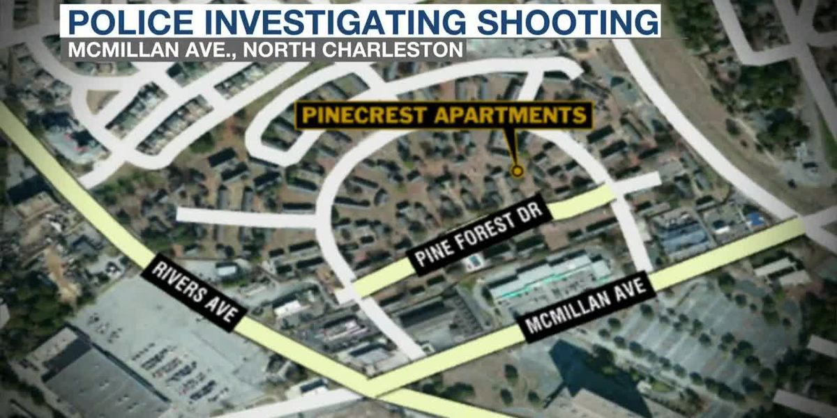 VIDEO: Police investigating shooting at N. Charleston apartment complex