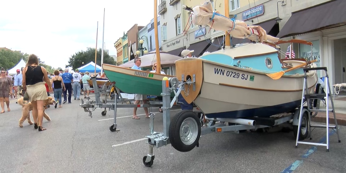 29th Annual Wooden Boat Show brings needed business to Georgetown