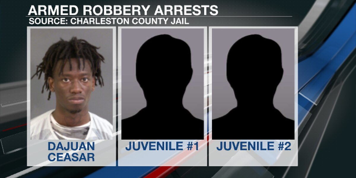 Bond denied for man accused in 3 armed robberies on Thurs.; two juveniles also charged