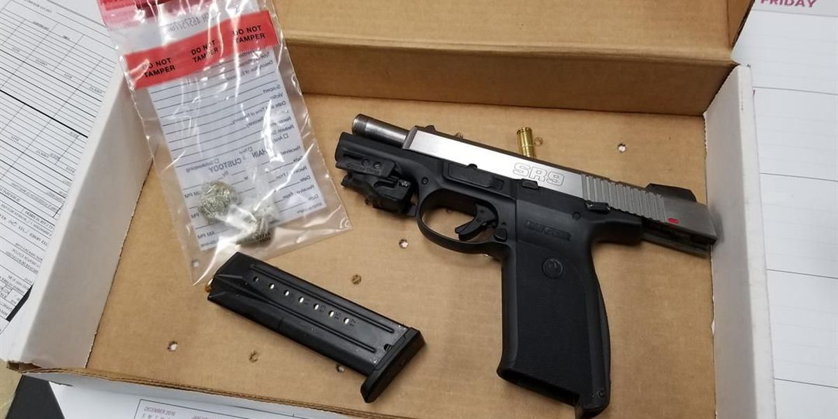 Police: Traffic stop leads to 4 arrests, seizure of drugs, guns