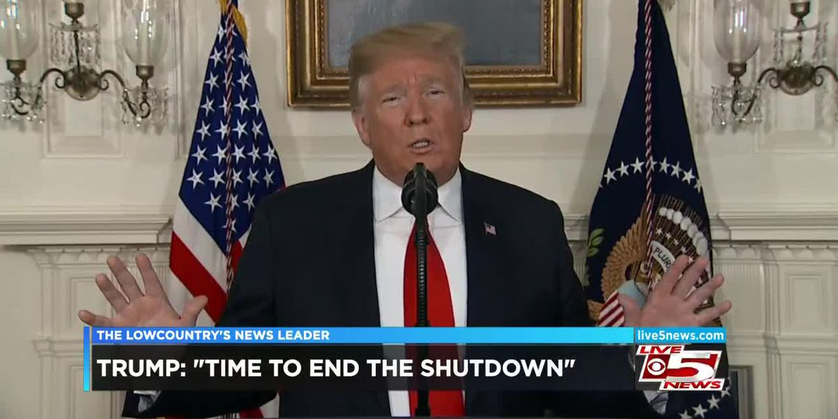 VIDEO: Trump calls for end of government shutdown