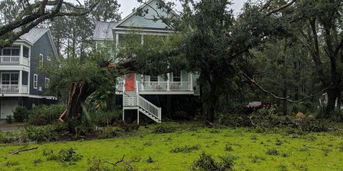 How to report property damage from Hurricane Dorian in the Tri-County