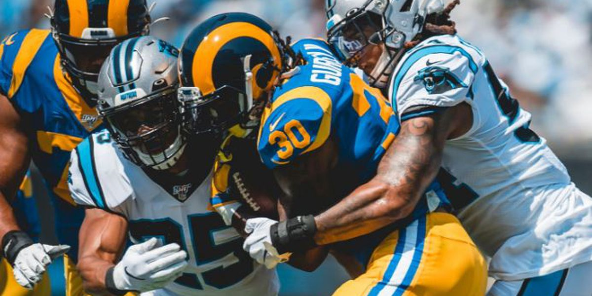 Gurley helps lead Rams to 30-27 win over Panthers
