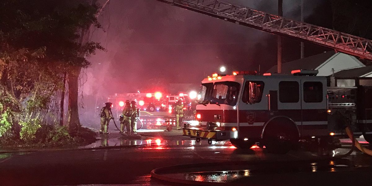 Structure fire under control in North Charleston