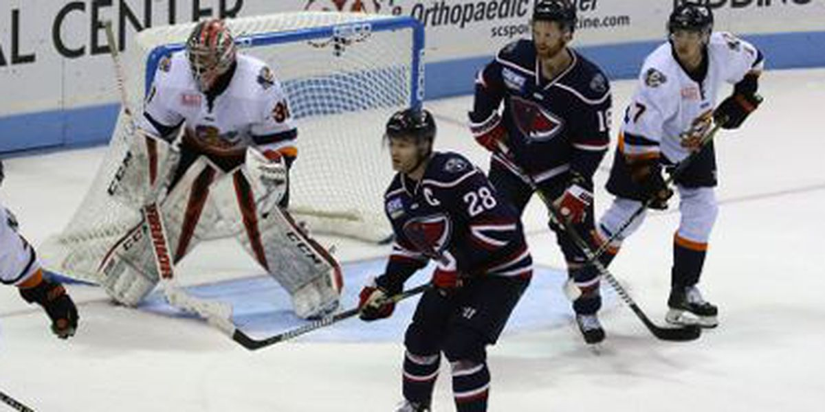 Helvig Stuns Rays With 48 Saves in Greenville win